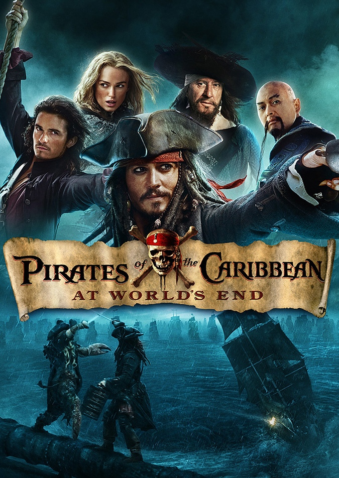пираты карибского постер